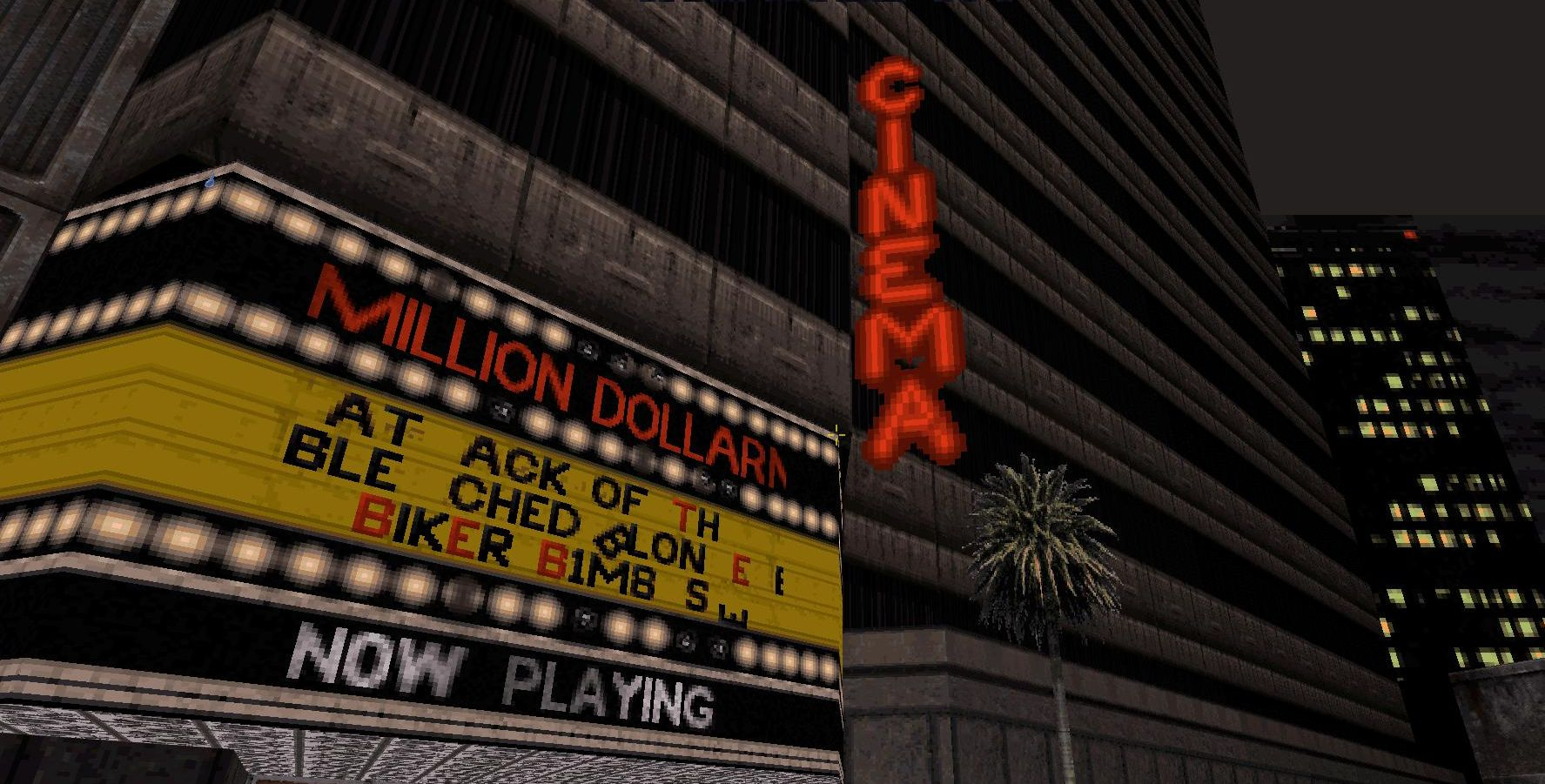 Great moments in PC gaming: Exploring the cinema in Duke Nukem 3D
