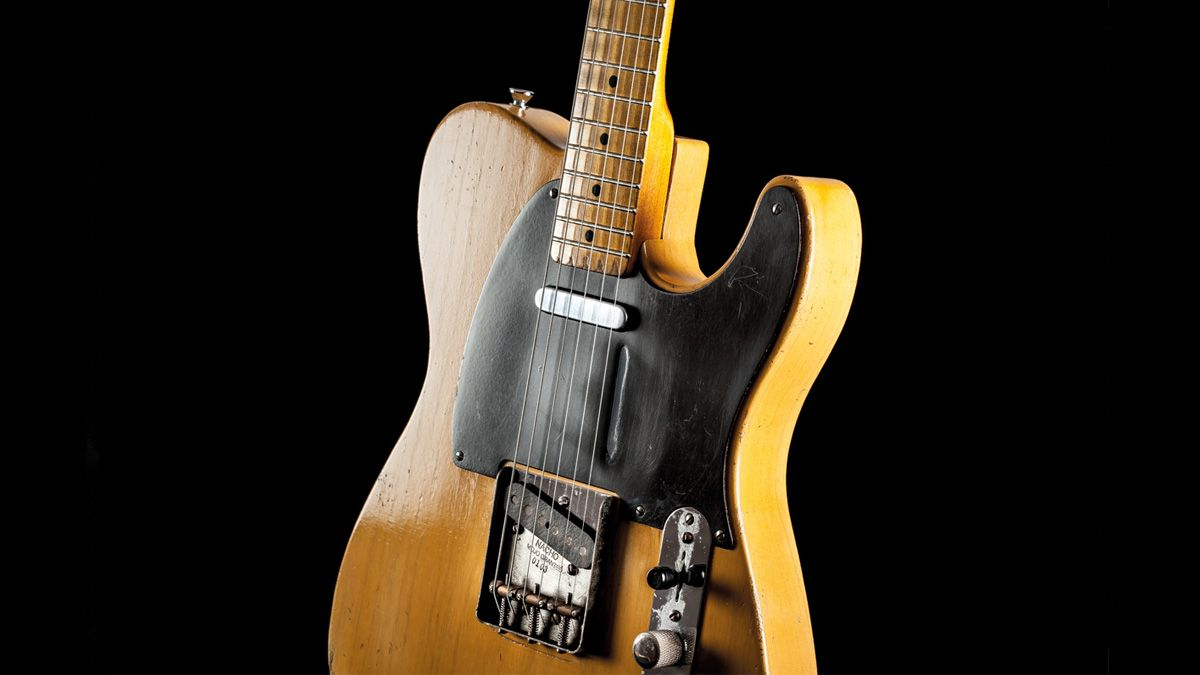 """Take a Closer Look at Spanish Luthier Ignacio """"Nacho"""" Baños's Meticulous Tributes to Early 1950s Fender"""