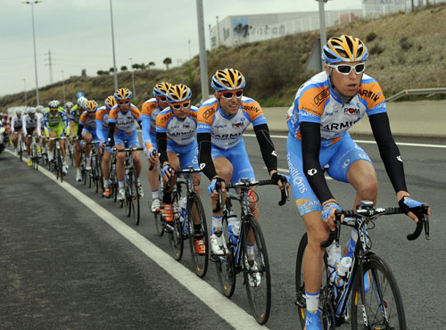 Garmin chases, Tour of Catalonia 2010, stage four
