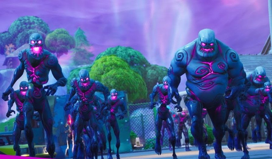 Retail Row returns to Fortnite, and it brought some purple friends