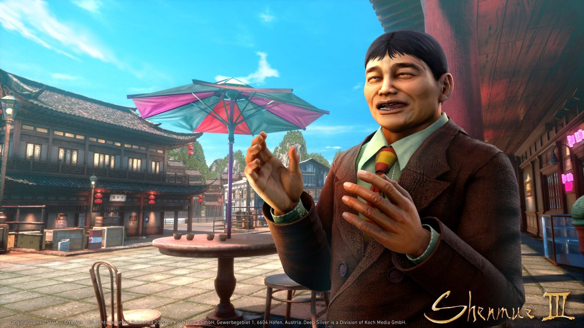 Surprise! Shenmue 3's next DLC, Story Quest Pack, drops next week - GamesRadar