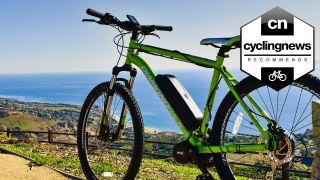 Diamondback mountain bike with Bafang ebike conversion
