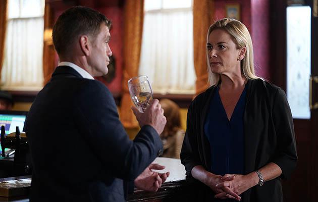 EastEnders Mel Owen talks to Jack Branning