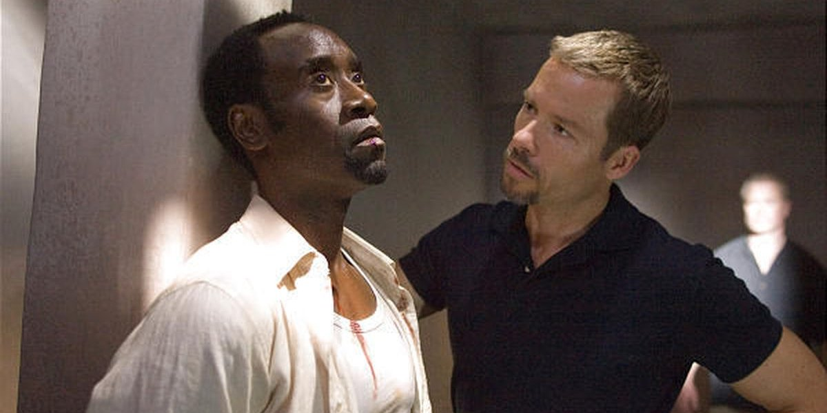 Don Cheadle and Guy Pearce in Traitor