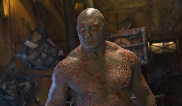 Drax in Guardians of the Galaxy 2