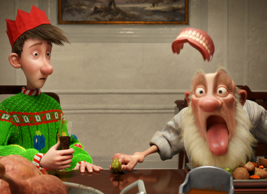 was 2011s best animated film and help decide the winner of the animation category in this years richard attenborough film awards you can cast your - Cast Of Arthur Christmas