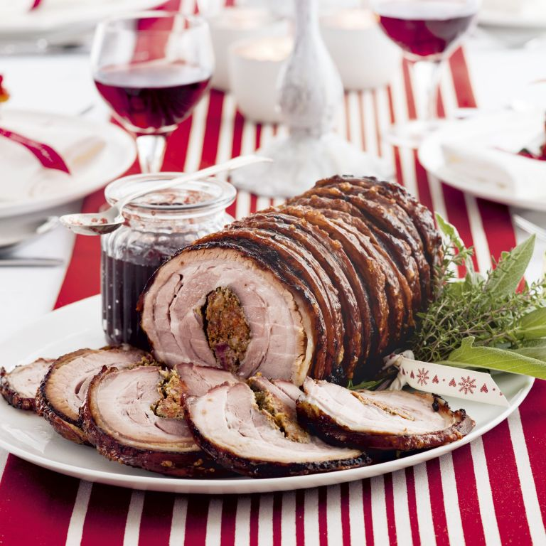 Photo of Pork stuffed with fennel and chorizo
