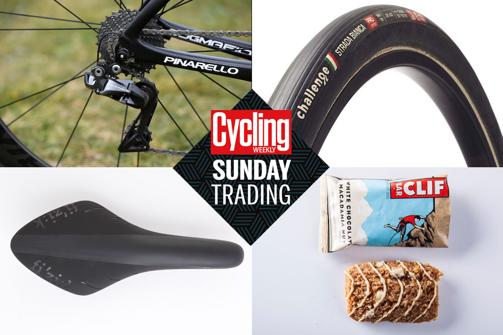 Sunday Trading: Save £1250 on a groupset upgrade, £50 on a Fizik saddle and more