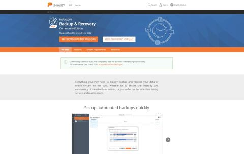 Paragon Backup and Recovery review