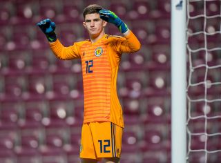 Scotland v England – 2019 UEFA Euro U21 – Qualifying – Group Four – Tynecastle Stadium