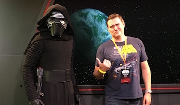Sean is not impressed with Kylo Ren