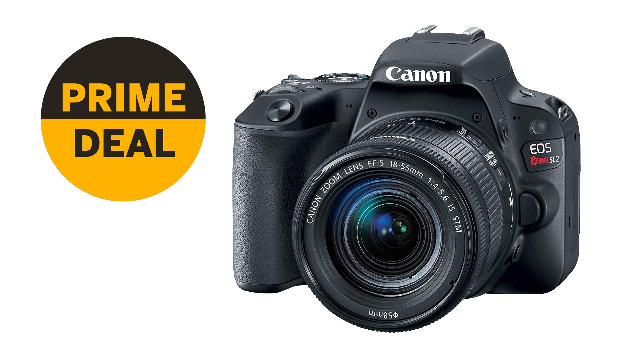 Mega Prime deal! Canon EOS Rebel SL2 with 18-55mm lens slashed by $165 | Digital Camera World
