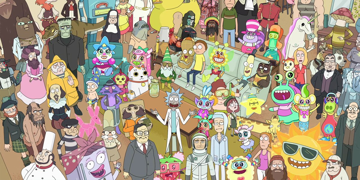 Rick and Morty characters