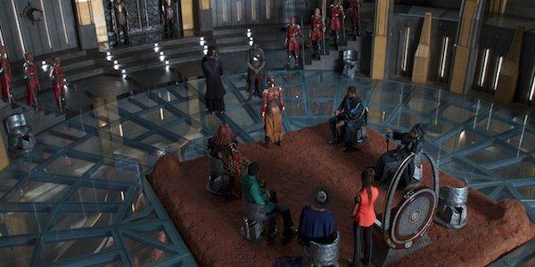 Wakanda Throne Room Black Panther