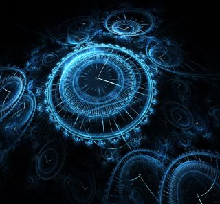 Time Illusion Stock Images - Is Time Real?