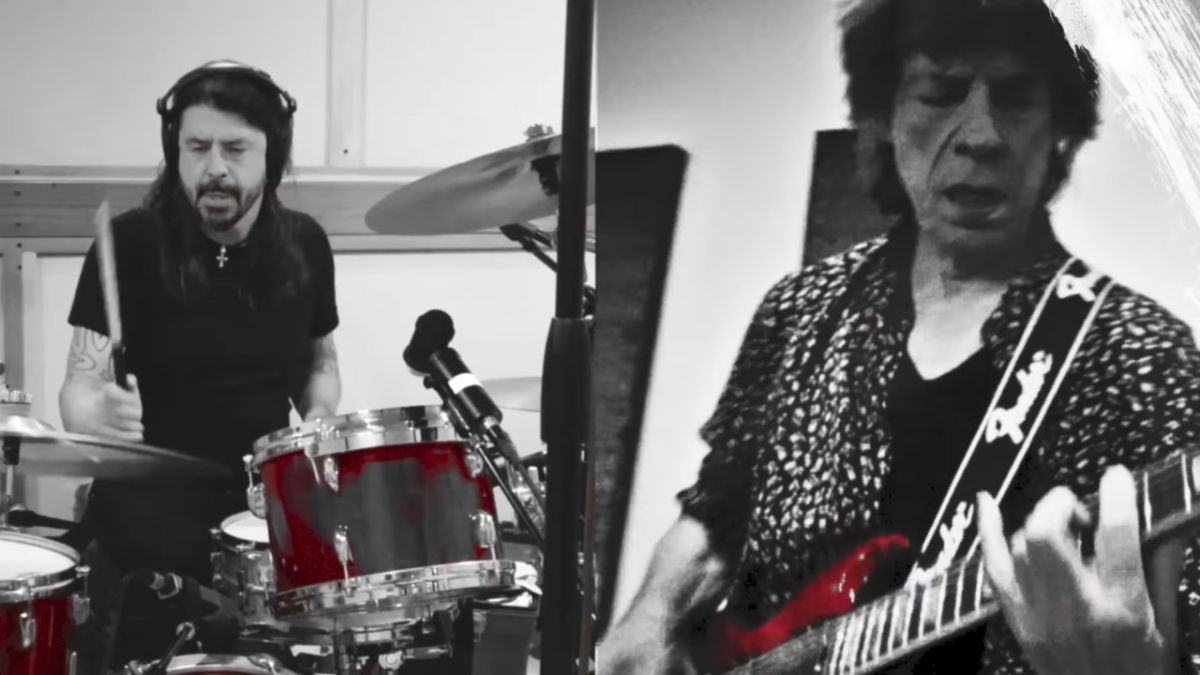 Mick Jagger and Dave Grohl team-up to record Easy Sleazy