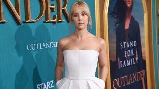 Karen Pirie star Lauren Lyle at the STARZ Outlander Season 5 Premiere in 2020.
