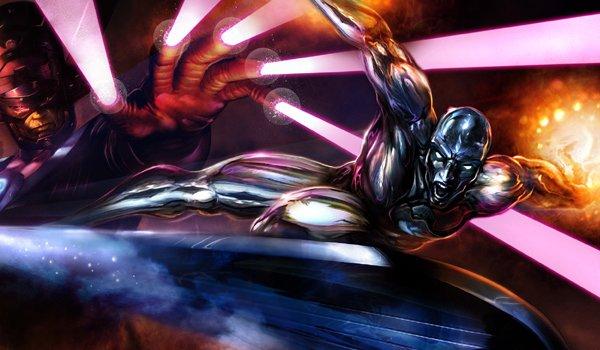 Galactus Silver Surfer Marvel Comics