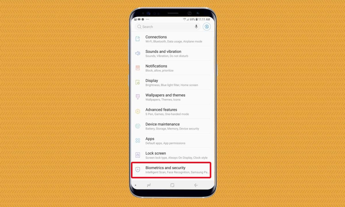 How to Set Up the Fingerprint Reader on Galaxy Note 9