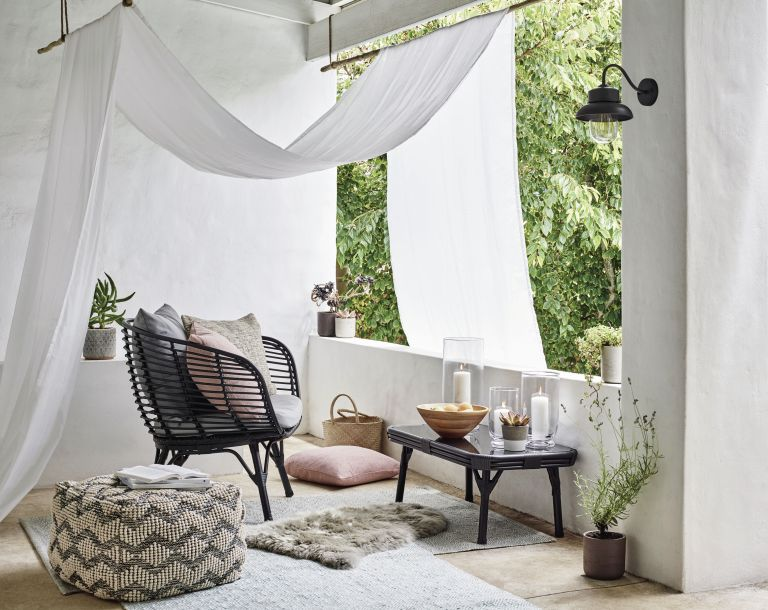 small balcony ideas: John Lewis & Partners Cabana 4-Seater Garden Lounging Set