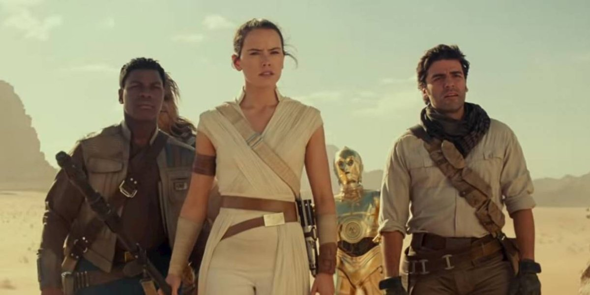 The cast of Star Wars: The Rise of Skywalker