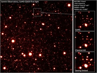 first image from Gemini South