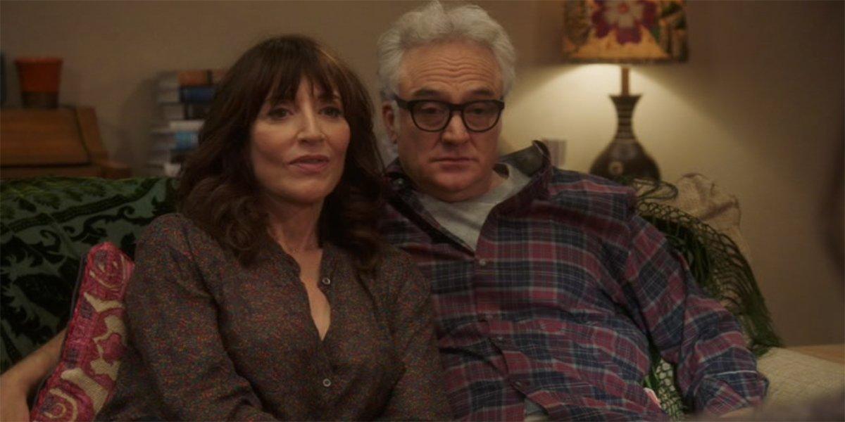 Katey Sagal And Bradley Whitford And Katey Sagal As Jake's Parents in Brooklyn Nine-Nine