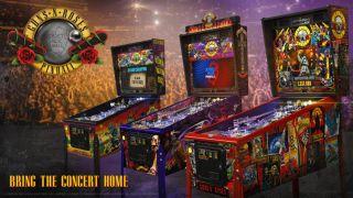 Guns N' Roses pinball