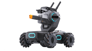 Meet the DJI RoboMaster S1, a mini tank drone and Trojan horse for teaching code