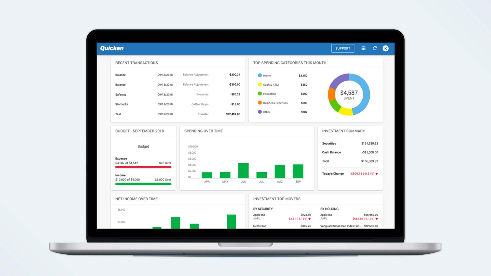 Best personal finance software: Quicken