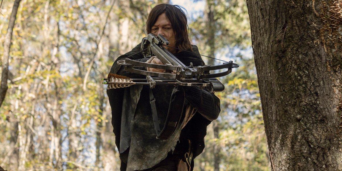 the walking dead season 10 episode 15 amc daryl dixon poncho
