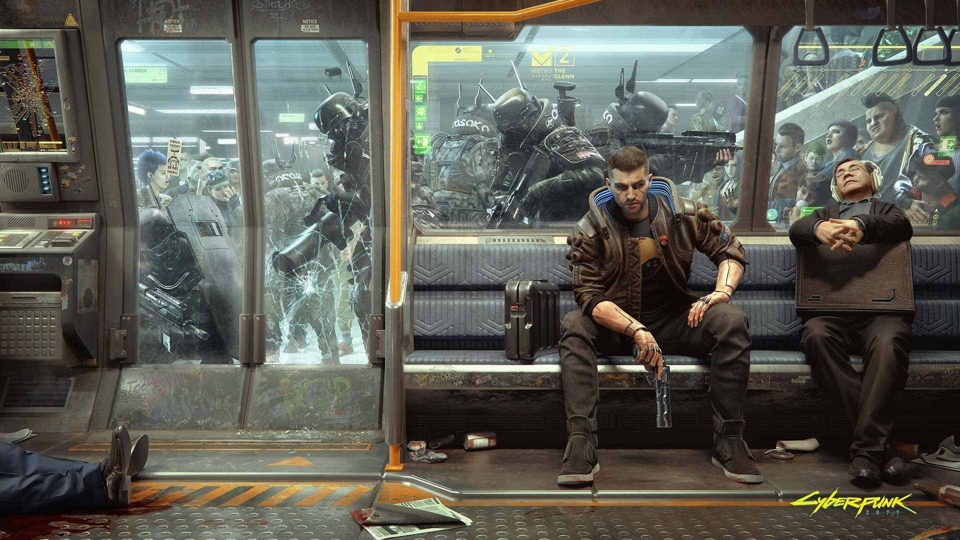 This Cyberpunk 2077 Wallpaper Is Packed With Tons Of Details For