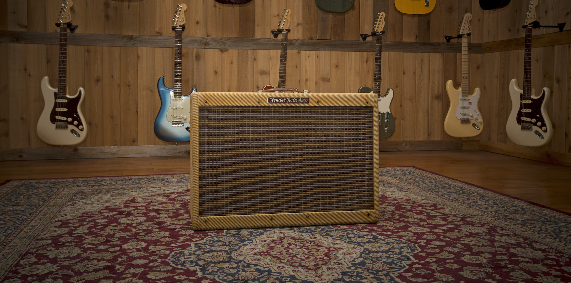 Fender and Joe Bonamassa Announce '59 Twin Amp JB Edition