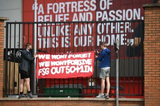 Liverpool, FSG protest owners