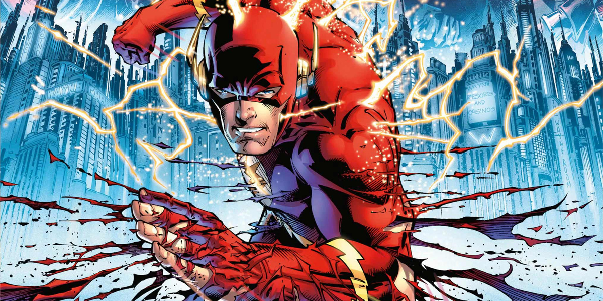 The Flashpoint comic cover