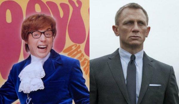 Austin Powers James Bond