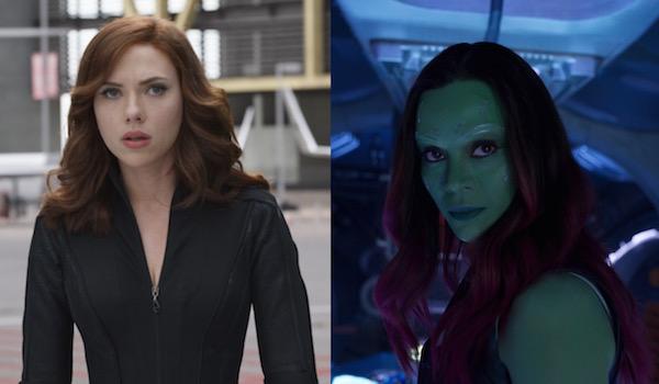 Gamora and Black Widow