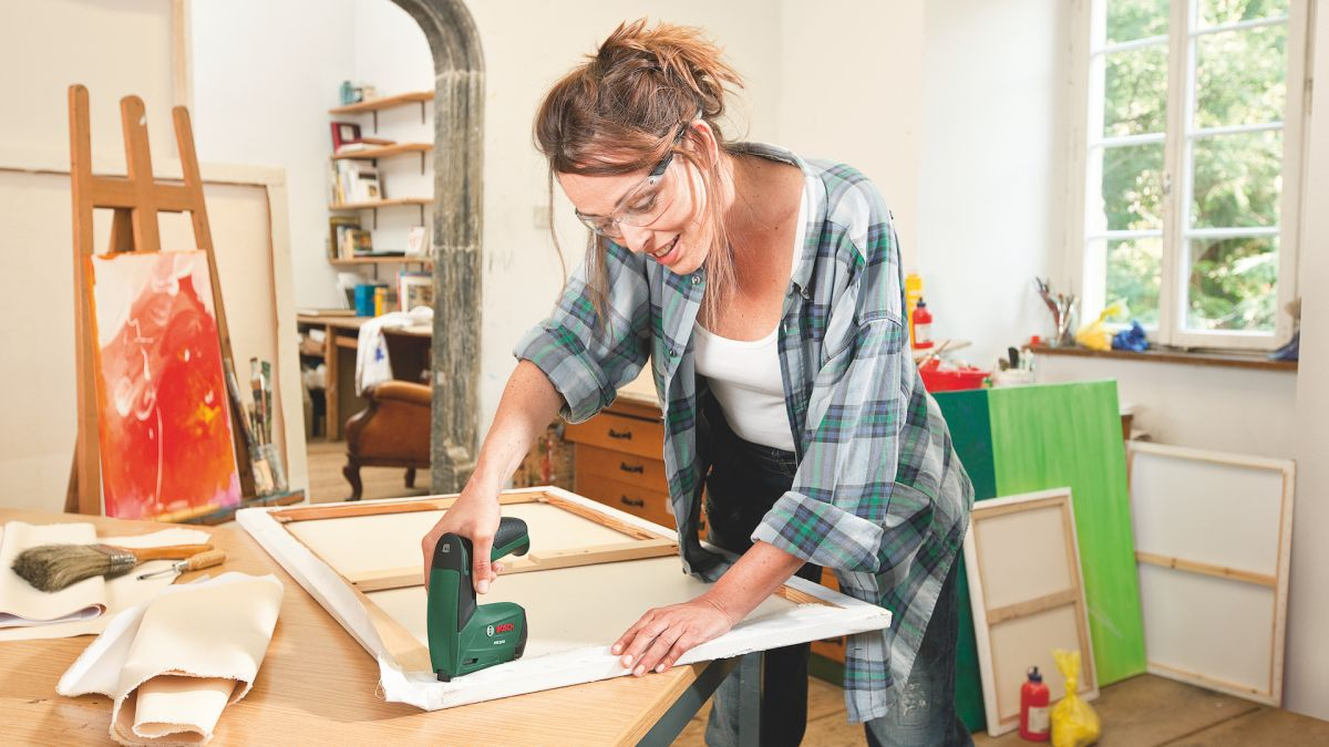 Bosch PTK 3.6 LI Cordless Tacker review: lightweight nail gun makes mincemeat of home improvements and arts and crafts