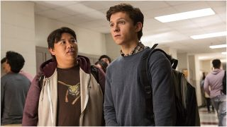Jacob Batalon and Tom Holland in Spider-Man: Homecoming