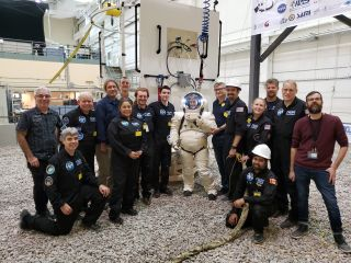 A team of citizen scientists from Project PoSSUM has completed an important set of tests with a spacesuit from Final Frontier Design.