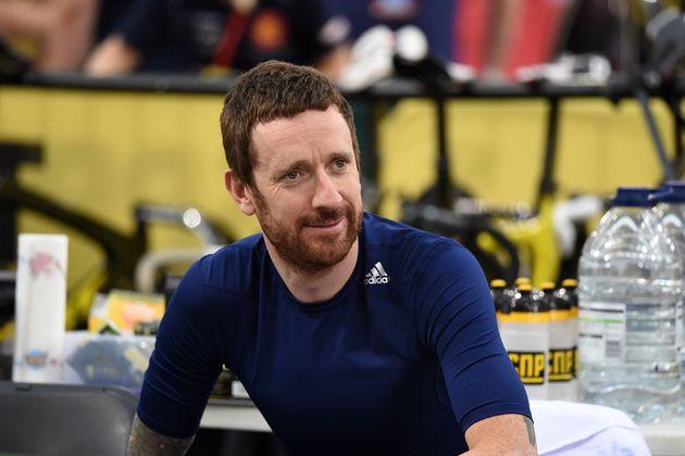 Bradley Wiggins track centre Track Cycling World Championships 2016