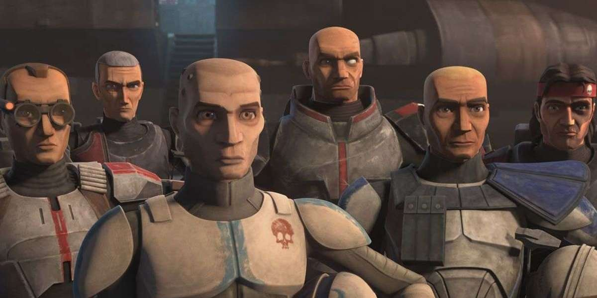 The Bad Batch in Star Wars: The Clone Wars