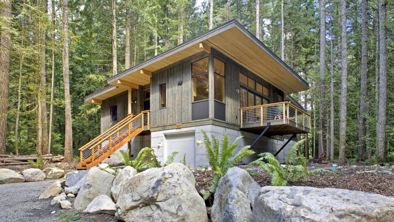 cabin prefab home