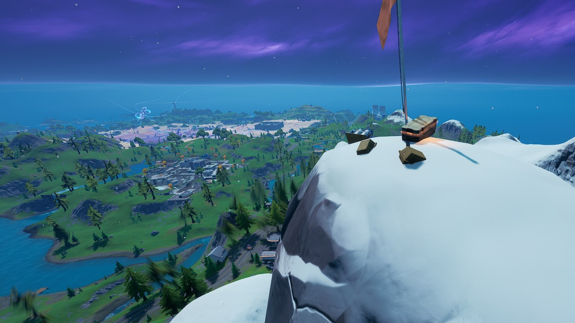 Where to find Scenic Spot, Gorgeous Gorge, and Mount Kay in Fortnite