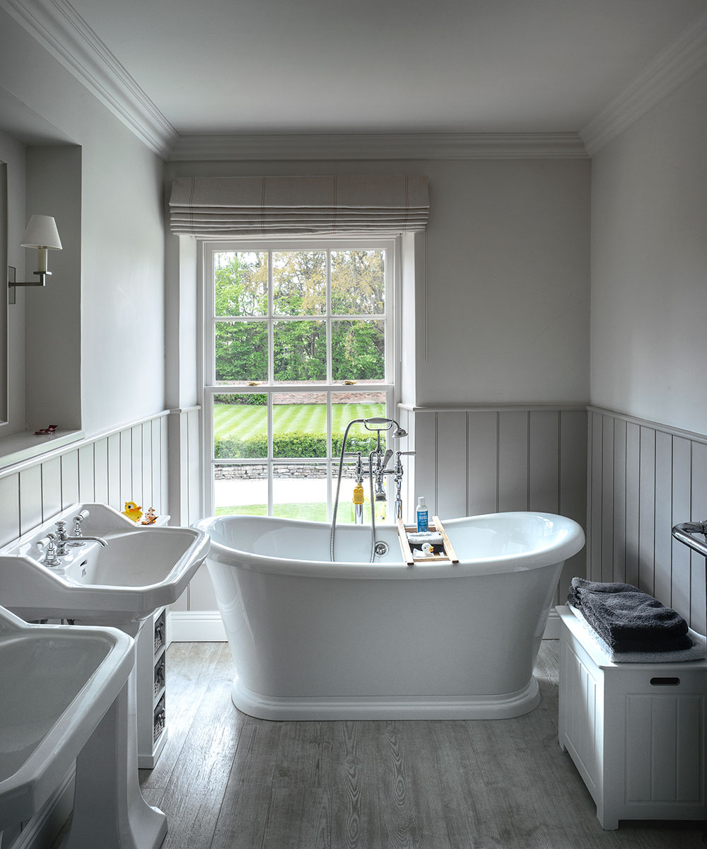 Bathroom Ideas: Grey Bathroom Ideas From Pale Greys
