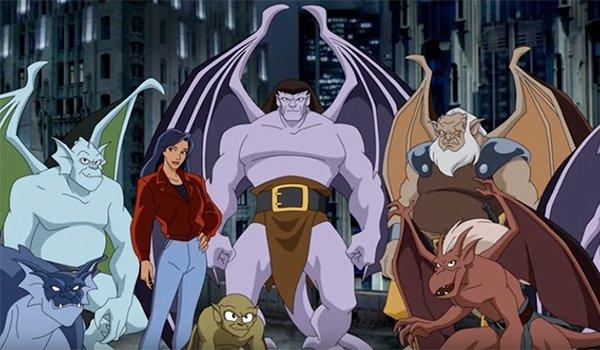 Goliath and the Gargoyles in Disney's Gargoyles