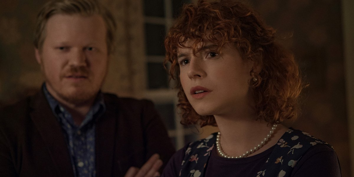 I'm Thinking of Ending Things Jessie Buckley and Jesse Plemons