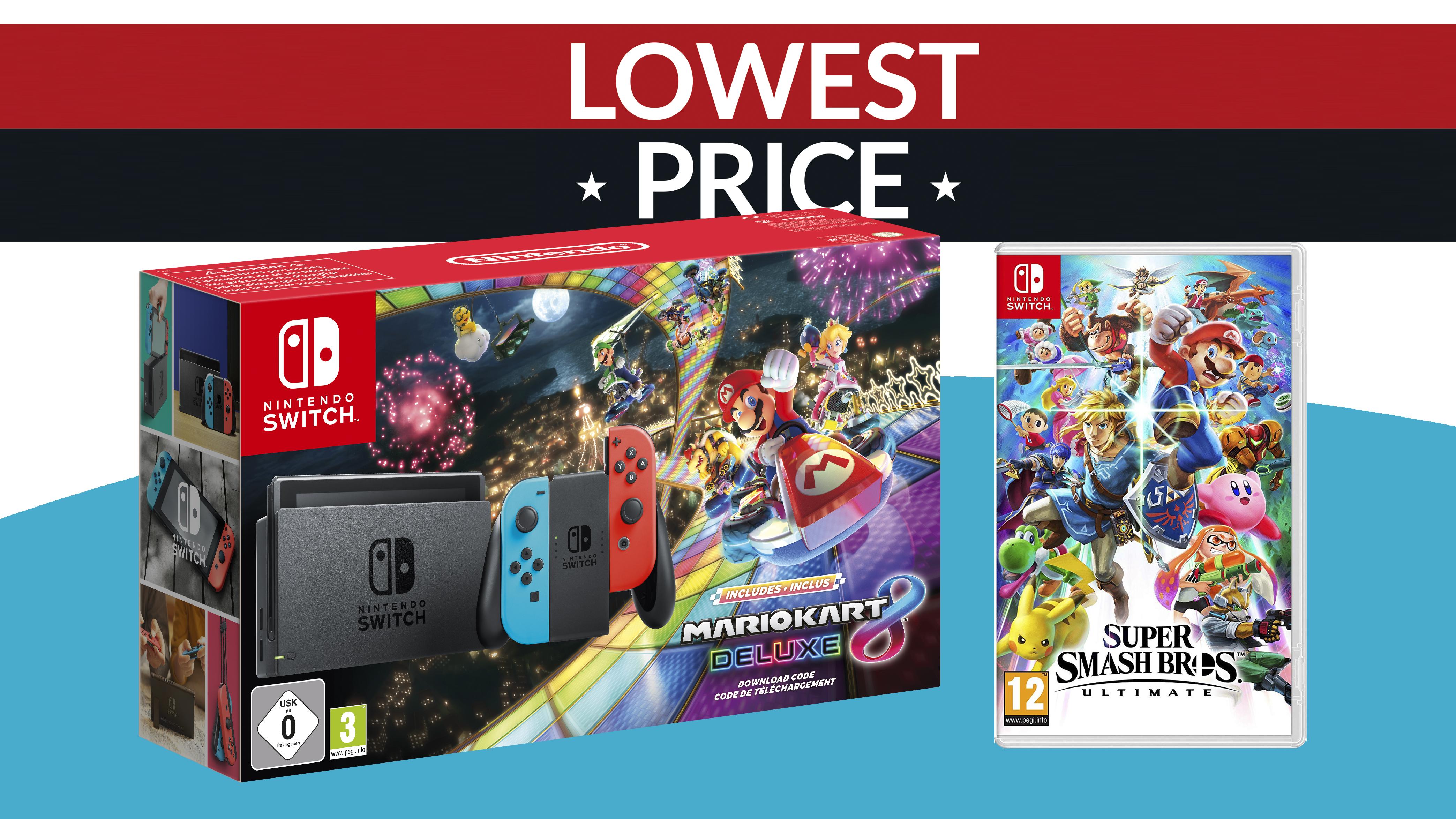 Christmas Mario Kart.Incredible Nintendo Switch Deal With Smash Bros Ultimate And