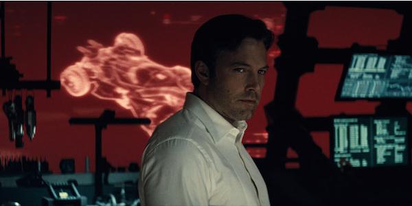 Batman v Superman Ben Affleck Batcave
