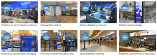 Orlando International Airport COVID-19 Safety Precautions